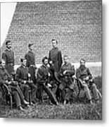 Civil War Officers Metal Print