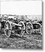 Civil War: Parrott Guns Metal Print