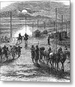 Civil War: Potomac Bridge Metal Print