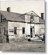 Civil War: Shirley House Metal Print