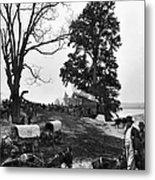 Civil War: Supply Base, 1864 Metal Print