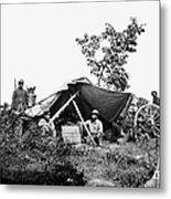 Civil War: Telegraphers, 1864 Metal Print