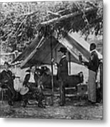 Civil War: Union Camp Metal Print