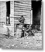 Civil War: Union Soldiers Metal Print