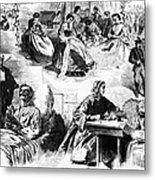 Civil War: Women, 1862 Metal Print