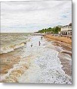 Clacton Beach Metal Print