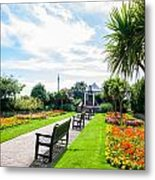 Clacton Pleasure Garden Metal Print