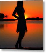 Claire Metal Print by Tamyra Ayles