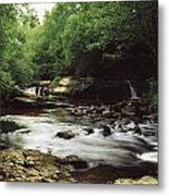 Clare River, Clare Glens, Co Tipperary Metal Print