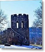 Clark Tower Metal Print