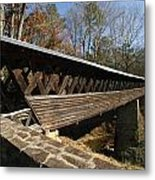 Clarkson Covered Bridge Metal Print