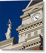 Clarksville Historic Courthouse Metal Print