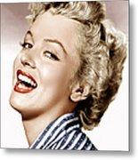 Clash By Night, Marilyn Monroe, 1952 Metal Print