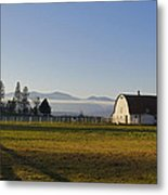 Classic Barn In The Country Metal Print