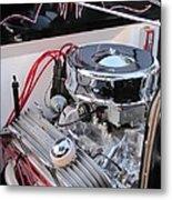 Classic Car Engine Metal Print