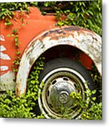 Classic Car Forgotten Metal Print