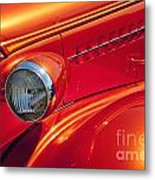 Classic Car Lines Metal Print