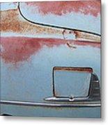 Classic Car Rust 6 Metal Print
