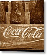 Classic Coke Work B Metal Print