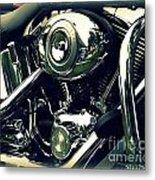Classic Harley Metal Print