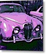 Classic In Pink Metal Print