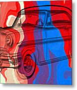 Classic Mercury Abstract Metal Print
