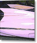 Classic Tails - Pink 1959 Cadillac Metal Print