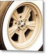 Classic Wheel Metal Print