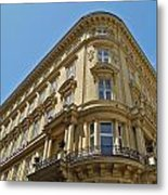 Classical Architecture in Vienna Metal Print