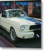 Classy Mustang Metal Print