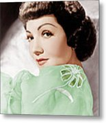 Claudette Colbert, Ca. 1950 Metal Print by Everett