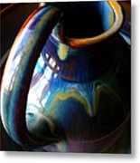 Clay Pitcher Metal Print