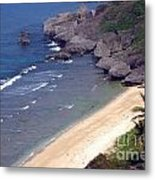Clean Beach Metal Print