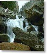 Clear Creek Falls Metal Print