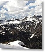 Clear Day On Rendezvous Mountain Metal Print