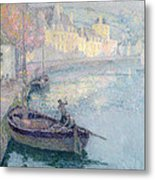 Clear Morning - Quimperle Metal Print
