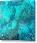 Clear Water 3 Ionian Sea Series Metal Print