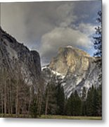 Clearing At Half Dome Metal Print