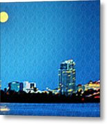 Clearwater At Night Metal Print