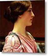 Cleonice Metal Print by John William Godward