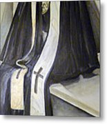 Clergy Attire Metal Print by Linda Pope
