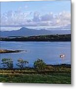 Clew Bay, Co Mayo, Ireland Metal Print
