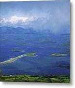Clew Bay, Co Mayo, Ireland View Of A Metal Print