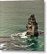 Cliff Of Moher 17 Metal Print