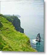 Cliff Of Moher 24 Metal Print