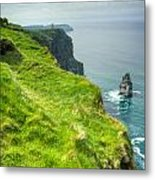 Cliff Of Moher 25 Metal Print