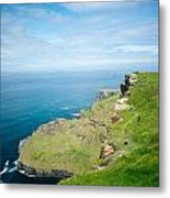 Cliff Of Moher 26 Metal Print
