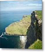 Cliff Of Moher 30 Metal Print
