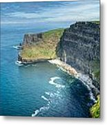 Cliff Of Moher 32 Metal Print