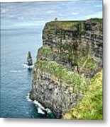Cliff Of Moher 35 Metal Print